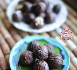 Przepis: Praliny czekoladowe